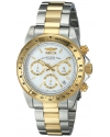 "Men's  ""Speedway Collection"" 18k Gold Plating and Stainless Steel Two-Tone Watch"