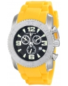 Swiss Legend Men's 10067-01-YLS Commander Analog Display Swiss Quartz Yellow Watch