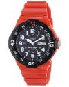 Men's Classic Analog Display Quartz Red Watch