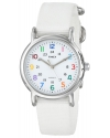 "Women's ""Weekender"" Watch with White Nylon Band"