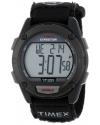 Men's Expedition Digital Black Fast Wrap Velcro Strap Watch