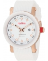 red line Men's RL-18002-RG-02 Compressor White Dial Watch