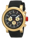Men's  Torque Sport Analog Display Japanese Quartz Black Watch