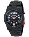 Men's  Octane Analog Display Japanese Quartz Black Watch