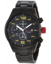 Men's Stealth Chronograph Black Watch