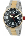 Men's Ignition Analog Display Japanese Automatic Two Tone Watch