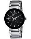Men's Black Dial Bracelet Watch