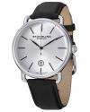 Men's Classic Ascot Agent Swiss Quartz Date Silver Dial Watch