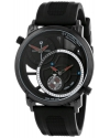 Stuhrling Original Men's 503.33561 Eclipse Horizon Swiss Quartz Dual Time Black Watch