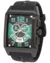 Men's Leisure Mad Man C-2 Swiss Quartz Chronograph Date Green Watch