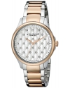 Women's Vogue Swiss Quartz Crystal Dial Two Tone Rose Watch