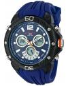Sport Men's Analog-Digital Display Analog Quartz Blue Watch