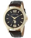 Classic Men's Analog-Quartz Brown Watch