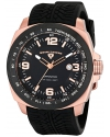Men's Sprinter Analog Display Swiss Quartz Black Watch