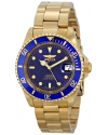 Men's Pro Diver Analog Display Japanese Automatic Gold Watch