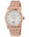 Lucien Piccard Men's LP-12355-RG-22S Diablons Silver Dial Rose Gold Ion-Plated Stainless Steel Watch