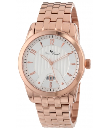 Men's Diablons Silver Dial Rose Gold Ion-Plated Stainless Steel Watch
