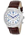 Men's Ferden Analog Display Japanese Quartz Brown Watch