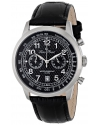 Men's Ferden Analog Display Japanese Quartz Black Watch