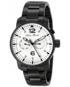 "Men's ""Expeditor"" Black Ion-Plated Stainless Steel Watch"
