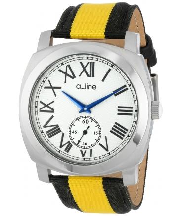 a_line Women's AL-80023-02-YL-NS2 Pyar Analog Display Japanese Quartz Two Tone Watch