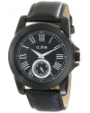 Women's Amare Analog Display Japanese Quartz Black Watch