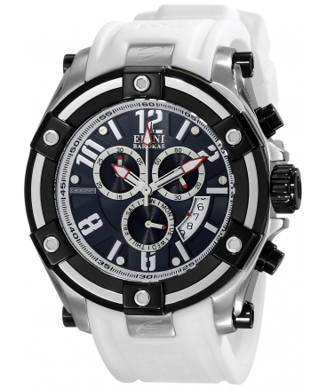 Men's Gladiator Analog Display Swiss Quartz White Watch