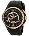 Men's Trespasser Analog Display Swiss Quartz Black Watch