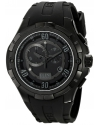 Men's Trespasser Analog Display Swiss Quartz Black Watch