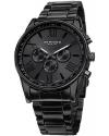 Men's Ultimate Swiss Multifunction Black Stainless Steel Bracelet Watch