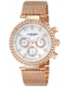 """Women's """"Lady"""" Crystal-Accented Stainless Steel Watch"""