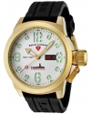 Swiss Legend Men's 10543-YG-02 Submersible Analog Display Swiss Quartz Black Watch