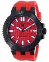 Swiss Legend Men's 10126-BB-01-RDA Challenger Analog Display Swiss Quartz Red Watch