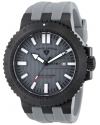 Men's Challenger Analog Display Swiss Quartz Grey Watch