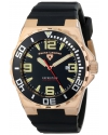 Men's Expedition Black Silicone Watch