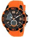 Sport Men's Sport Watch with Orange Silicone Band