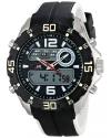 Sport Men's Analog-Digital Display Analog Quartz Black Watch