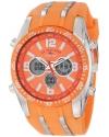 Sport Men's Orange Analog-Digital Chronograph Watch