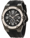 Swiss Legend Men's 30025-BB-01-SB Throttle Chronograph Black Dial Watch