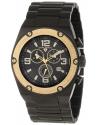 Men's Throttle Chronograph Black Dial Watch