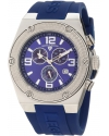 Men's Throttle Chronograph Blue Dial Watch