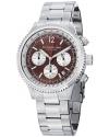 "Men's ""Monaco"" Quartz Chronograph Stainless Steel Watch"
