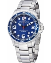 Men's Aquadiver Grand Regatta Swiss Quartz Diver Date Blue Watch