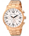 Men's Avalon Analog Display Swiss Quartz Rose Gold Watch