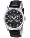 Lucien Piccard Men's LP-12761-01 Stellar Analog Display Japanese Quartz Black Watch