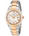 Women's Vienna Analog Display Japanese Quartz Two Tone Watch