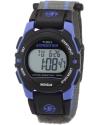 Mens Expedition Classic Digital Chrono Alarm Timer Blue/Gray Fast Wrap Velcro Strap Watch