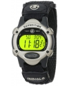 Mens Expedition Digital Black Fast Wrap Velcro Strap Watch