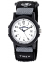 Men's Expedition Camper Black Fast Wrap Velcro Strap Watch