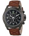 Men's Expedition Rugged Chrono Analog Display Analog Quartz Brown Watch